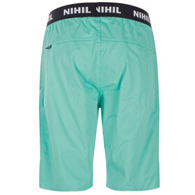 Nihil Wave Shorts Men green wave